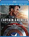 Captain America: The First Avenger 3D (Blu-ray/DVD)