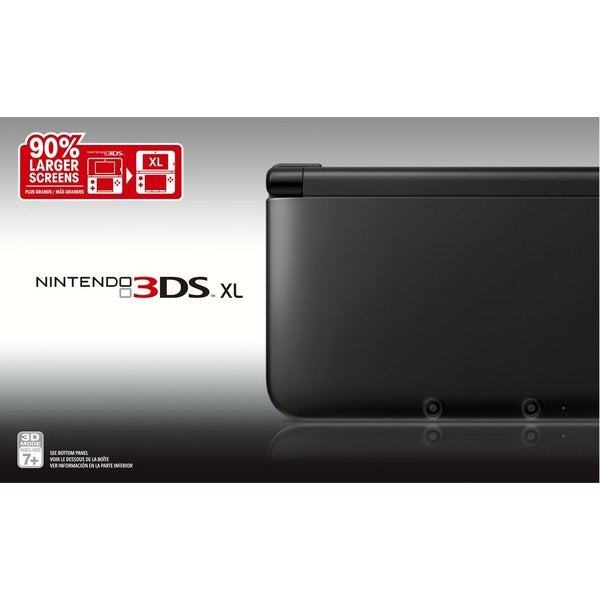 Nintendo 3DS XL Black/Black