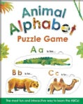 Animal Alphabet Puzzle Game (Board book)