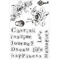 True Romance Clear Stamps 6X4in