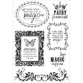Enchanted Garden Clear Stamps 6X4in
