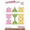 "CottageCutz Die 4""X6""-Celebration Tabs Made Easy 3/Set"
