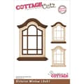 "CottageCutz Die 4""X6""-Victorian Window Made Easy"