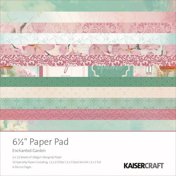 Enchanted Garden Paper Pad 6.5X6.5in