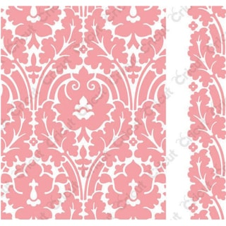 Cuttlebug A2 Embossing Folder/Border Set-Anna Griffin Brocade