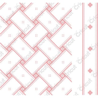 Cuttlebug A2 Embossing Folder/Border Set-Anna Griffin Matelasse