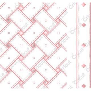 Cuttlebug A2 Embossing Folder/Border Set-Anna Griffin Matelasse