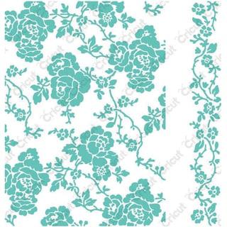Cricut Cuttlebug 5X7in Embossing Folder/Border Anna Griffin Rosa Set
