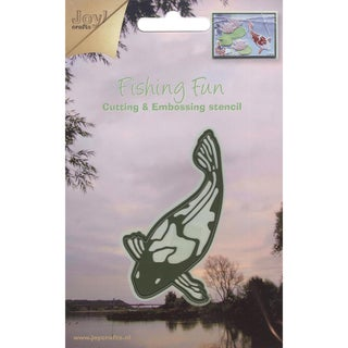 Joy! Craft Dies-Fishing Fun/Koi Fish