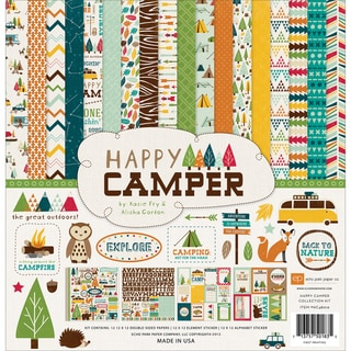 Happy Camper Collection Kit 12X12in