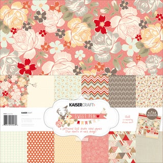 Sweet Pea Paper Pack 12X12in