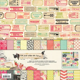 Find Your Wings & Fly Paper & Accessories Kit 12X12in-Up & Away