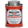 Premium Best-Test Rubber Paper Cement-8 Ounces