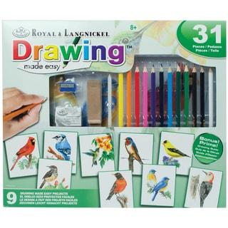 Royal Brush Drawing Made Easy Box Set