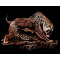 "Copper Foil Engraving Art Kit 8""X10""-Sabretooth"