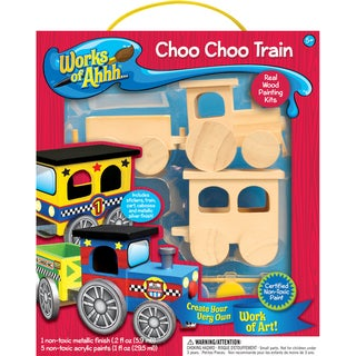 Works of AHH Wood Paint Kit-Train