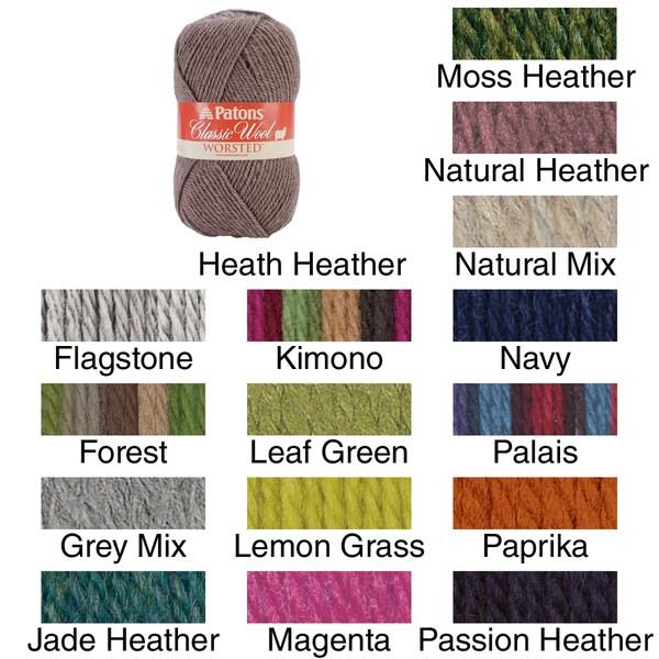 Classic 100-percent Wool Yarn