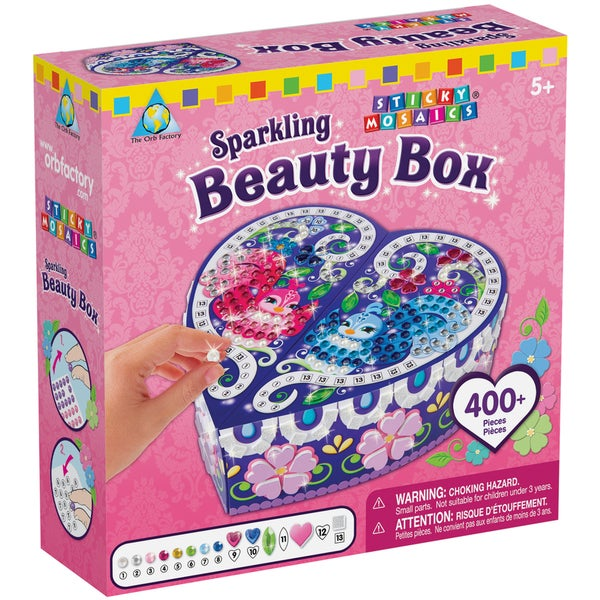Sticky Mosaics Kit-Sparkling Beauty Box