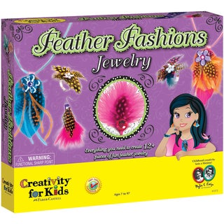 Feather Fashion Jewelry Kit-