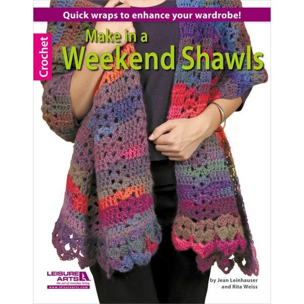 Leisure Arts-Make In A Weekend Shawls