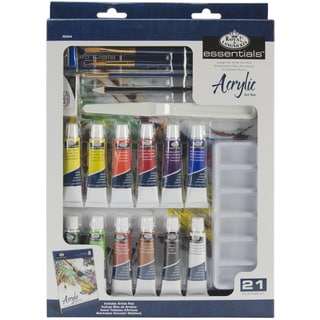royal langnickel pink art acrylic painting for beginners