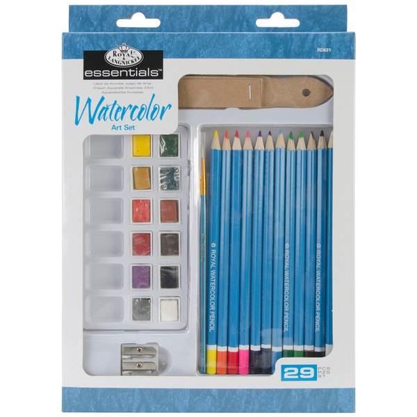 Royal Brush Essentials Art Set-Watercolor Pencil