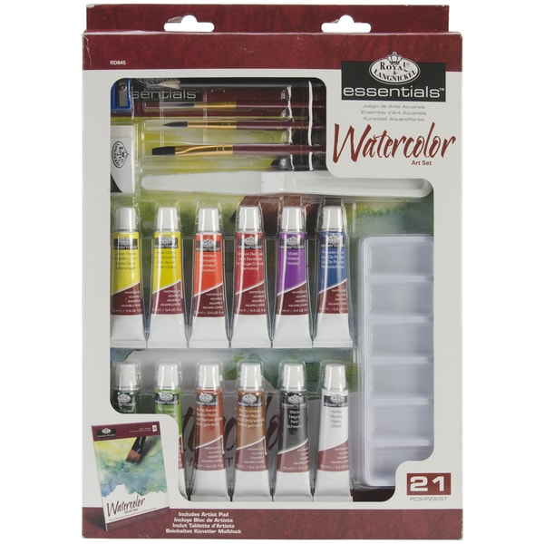 Royal Brush Essentials Art Set-Watercolor Painting