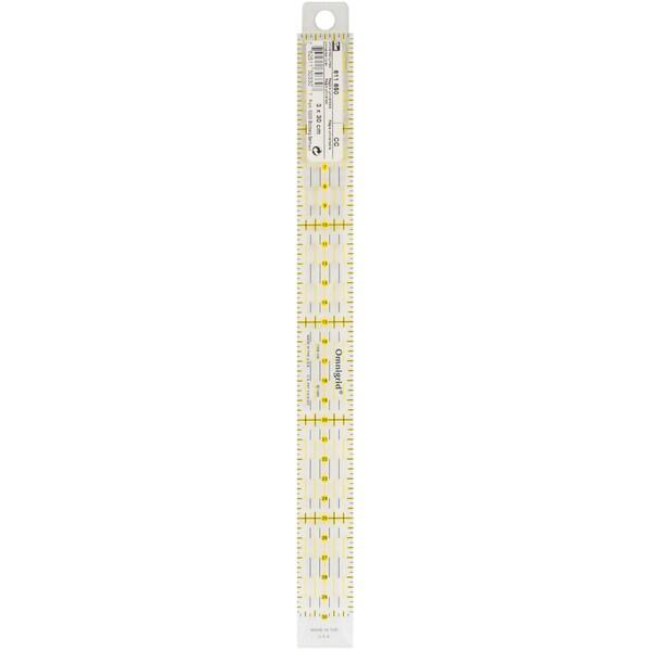 Omnigrid Metric Quilter's Ruler-3cm X 30cm