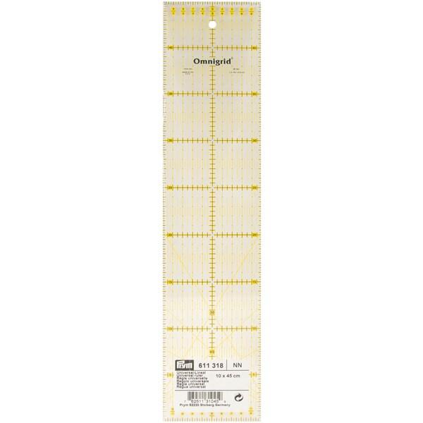 Omnigrid Metric Quilter's Ruler-10cm X 45cm