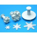 Plunger Cutter Set 3 Pieces-Snowflake