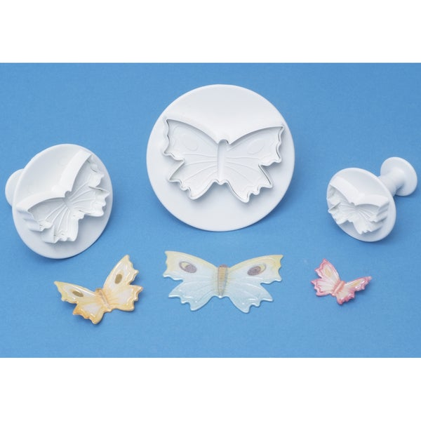 Plunger Cutter Set 3 Pieces-Butterfly