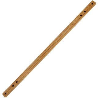 "30"" Adapter Bar For E-Z Stitch Lap Stand-Solid Oak"