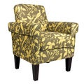 angelo:HOME Ennis Modern Bird Branch Bamboo Green Chair