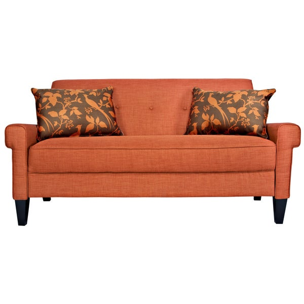angelo:HOME Ennis California Vintage Orange Sofa