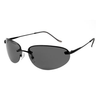 Alta Vision Men's/ Unisex Laguna Polarized/ Rimless Sunglasses