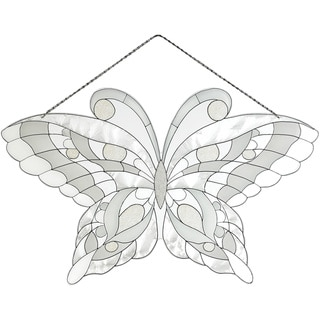 Joan Baker White Butterfly Suncatcher