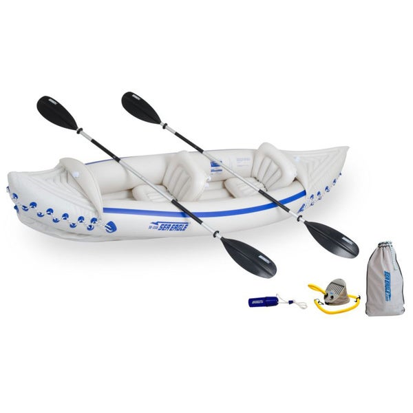 Sea Eagle 330 Inflatable Kayak With Deluxe Package image