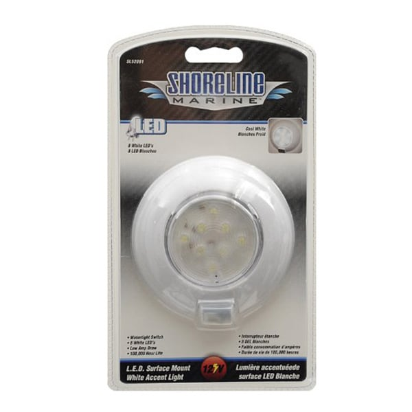 Shoreline Marine LED Recessed Surface Mount Light