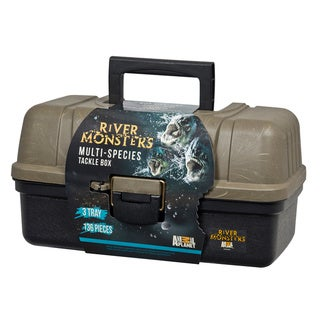 River Monsters 136 Piece 3 Tray Tackle Box