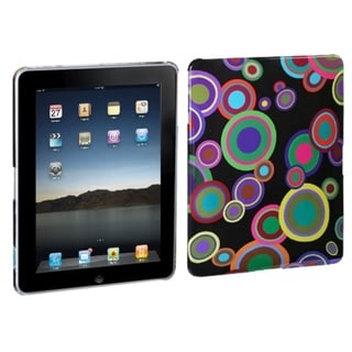 BasAcc Groove Bubble/ Black Case for Apple iPad 2/ 4