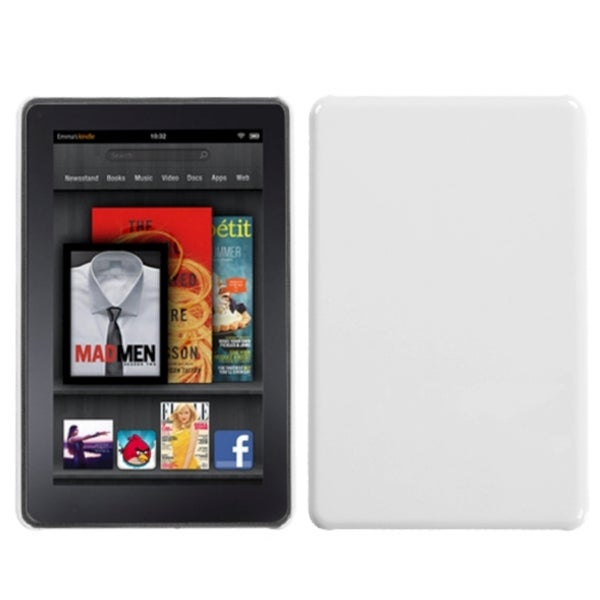 BasAcc Natural Ivory White Back Case for Kindle Fire