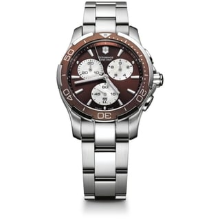 Swiss Army Women's Alliance Sport Chrono Brown Dial Watch - 241502