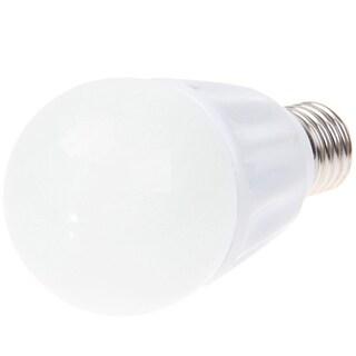 E27 7W AC 85-260V White LED Light Bulb