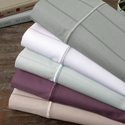 700 Thread Count Sateen Stripe 4-piece Sheet Set