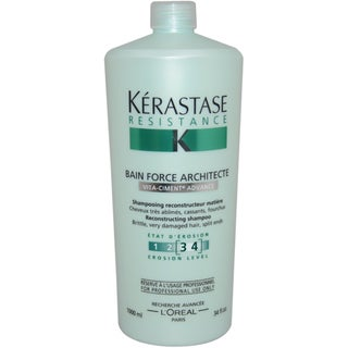 Kerastase Resistance Bain De Force Architecte 34-ounce Reconstructing Shampoo