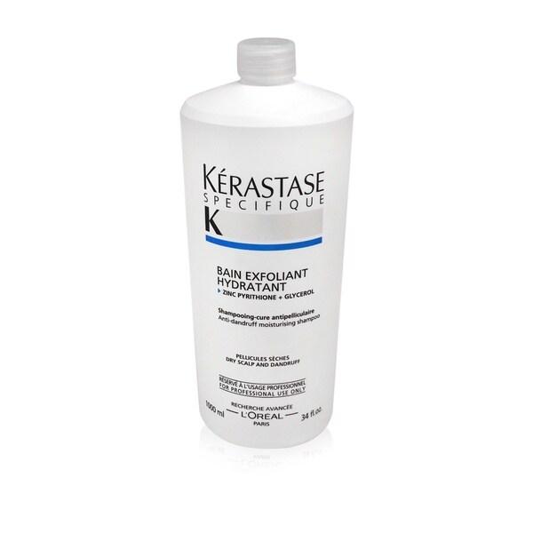 Kerastase Specifique Bain Exfoliant Hydratant Dry Scalp 34-ounce Shampoo