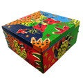Vibrant Colors Hand-Painted Box (Indonesia)