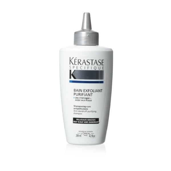 Kerastase Specifique Bain Exfoliant Purifiant 4.2-ounce Shampoo for Oily Hair
