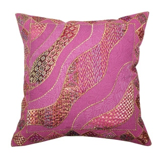 Khambadia Throw Pillow (India)