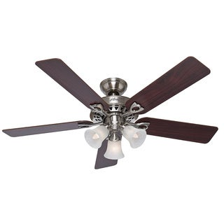 Hunter Fan Sontera 52-inch Brushed Nickel Remote Ceiling Fan